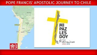 Pope Francis Apostolic Journey to Chile - Farewell ceremony 2018-01-18