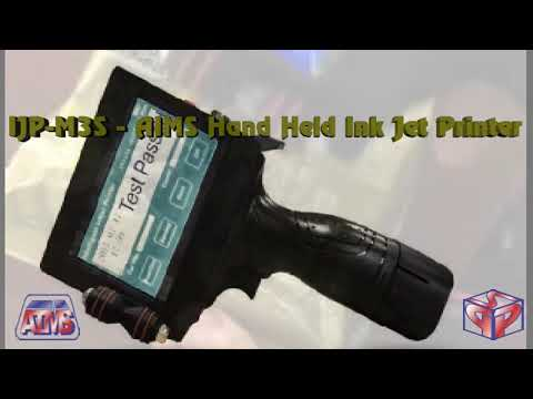 Industrial Handheld Non-Contact Ink Jet Printer Model IJP - M3S