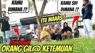 ORANG GILA KETEMUAN PAKE TELPON   Prank Indonesia