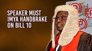 Here is why the Speaker Needs To Pause Constitution Amendment Process