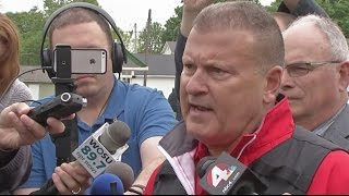 Licking Co. Sheriff press conference after officer shot and killed