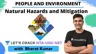 Natural Hazards and Mitigation | People and Environment | NTA UGC NET Paper 1 | Kumar Bharat - Download this Video in MP3, M4A, WEBM, MP4, 3GP