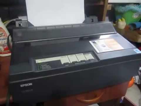 Prueba de Impresora Epson Lx-300+II
