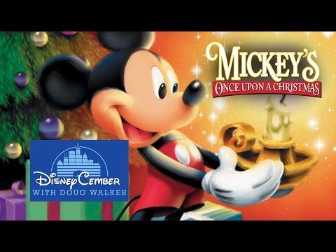 mickeys once upon a christmas 1999