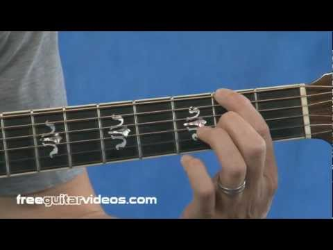 Finger Placement Guitar Lesson