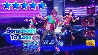 Dance Central 3 - Somebody To Love (DC2 Import) - 5 Gold Stars