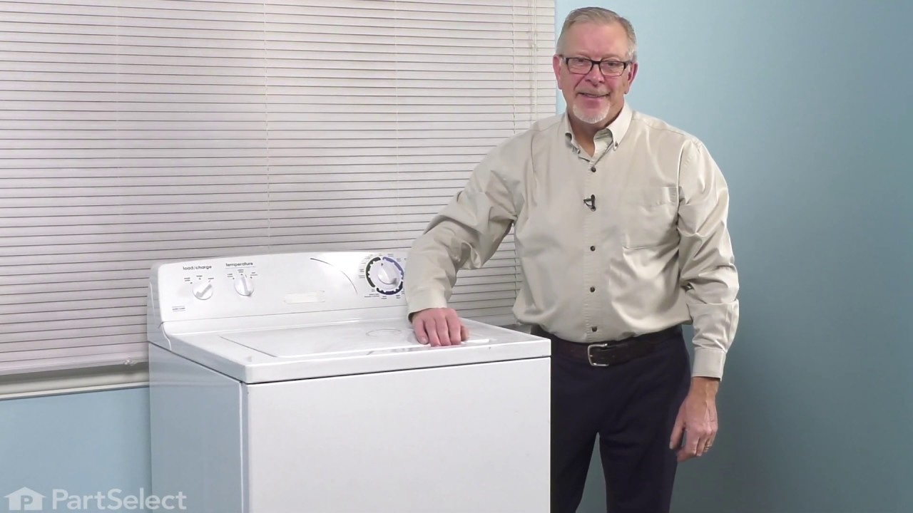 Replacing your General Electric Washer Lid Bumper