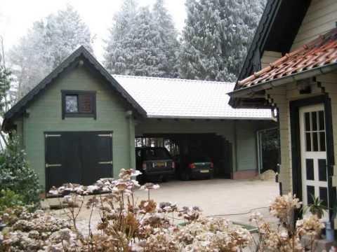 Carport & Garage aus Holz bauen - Blockhaus 24 Dr.Jeschke Holzbau