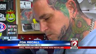 Think Before You Ink: FDA Recall Of Inks And Needles Used In Home Kits