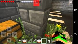 Minecraft PE 11.1 Hunger Games I'm Iron Man