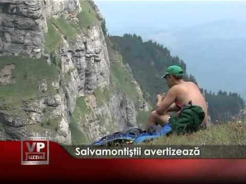 Atenţie la traseele din munţi – VIDEO