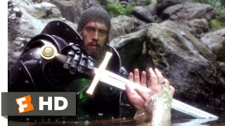 Excalibur (1981) - The Lady of the Lake Scene (3/10) | Movieclips
