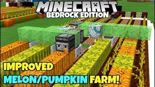minecraft bedrock edition auto melon farm - TH-Clip