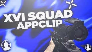 (WON) XVI Squad Appclip  @16thSquad @yosholez @splashofactavis