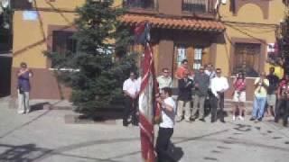 preview picture of video 'valdemeca(se corre la bandera)(primera vuelta)  2009'