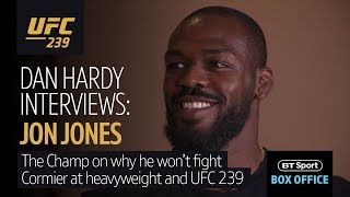 Jon Jones at his most candid | He met Dan Hardy to talk Cormier, heavyweights and Adesanya
