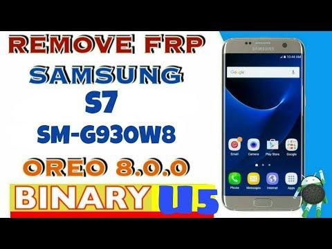 Samsung S7 Oreo U5 Frp Unlock| Samsung S7 Sm-G930w8 Frp