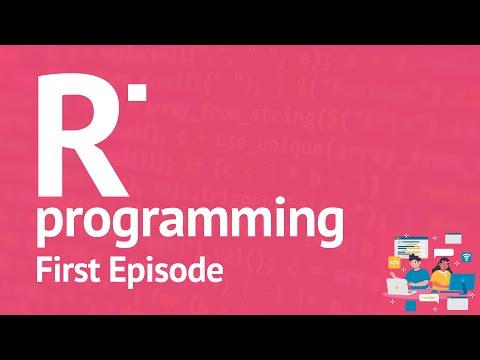 R Programming Series - First Episode, Free R Online Tutorials