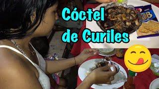 Comiendo Un Rico Coctel de Concha curiles. P#6