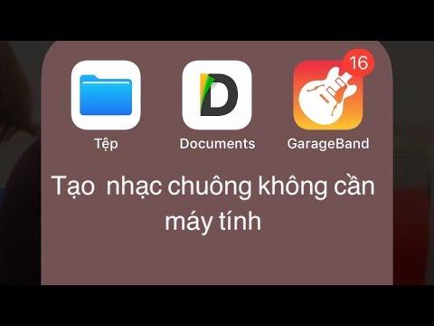 Cách tạo nhạc chuông cho Iphone không cần máy tính - AnhQuoc Vlog / Travel & Food