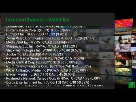 InvestorChannel's Media Watchlist Update for Friday, March ... Thumbnail