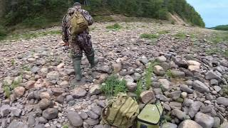 Летняя рыбалка 2019 Кольский п-ов часть 2. Бешенный  клев семги.