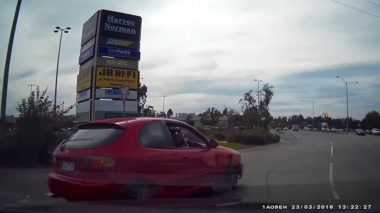 This Month In Dashcams: Um, It's A Red Light