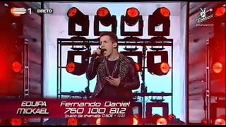 Fernando Daniel - Everything I do (Bryan Adams) - The Voice Portugal
