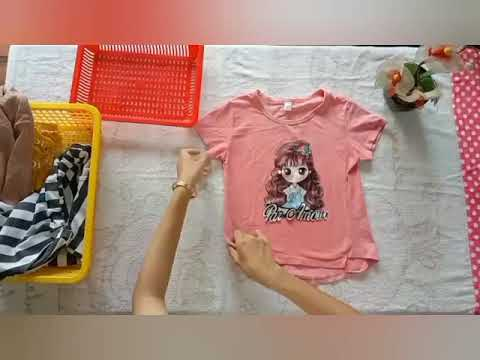 Hướng dẫn gấp đồ cho trẻ mầm non# kynanggapdo#xepdochotre
