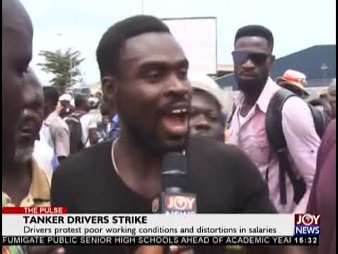 Tanker Drivers Strike - The Pulse on JoyNews (24-9-18)