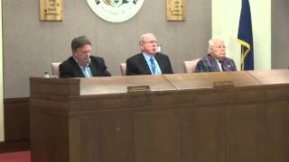 preview picture of video 'Butler County Commissioners Meeting 12 31 14'