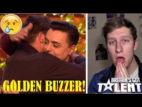MOST EMOTIONAL PERFORMANCE EVER ON BGT?!! (Marc Spelmann Golden Buzzer Audition REACTION) (видео)