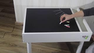 Детский световой стол песочница. Планшет. Игровой столик. - видео 1