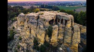 Tajemnicze starożytne jaskinie w Niemczech-nagranie w j.rosyjskim