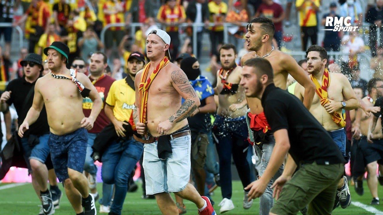 """Incidents Lens-Lille : """"Des supporters envahissent la pelouse ? Match perdu"""" souhaite Diaz"""