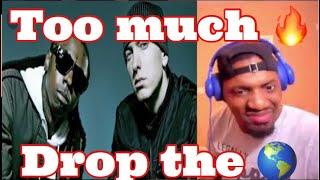 I never realized Em verse was so fire! | Lil Wayne - Drop The World ft. Eminem | REACTION