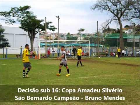 Copa Amadeu sub 16 decisão Pênaltis São Bernardo x Água Comprida