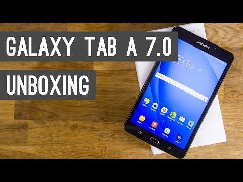 Samsung Galaxy Tab A 7.0 (2016) Unboxing + Erster Eindruck   Deutsch