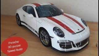 Porsche 3D puzzel speedbuild