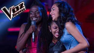Darlin, Andrea y Lois cantan 'Falsas esperanzas'   Batallas   La Voz Teens Colombia 2016