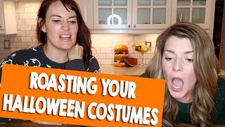 WE ROAST YOUR HALLOWEEN COSTUMES (ft. Mamrie Hart) // Grace Helbig