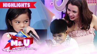 Yorme proves that he has a picture with Coco to Mini Miss U Kashieca | It's Showtime Mini Miss U