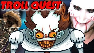МЕНЯ ЗАТРОЛЛИЛА КУРТКА \\ Troll Face Quest Horror 2 Halloween