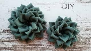 DIY How To Make A Fabric Flower