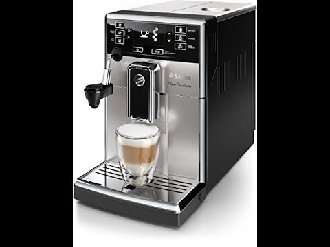 , Saeco HD8924/47 PicoBaristo Automatic Milk Frother Espresso Machine, Stainless Steel