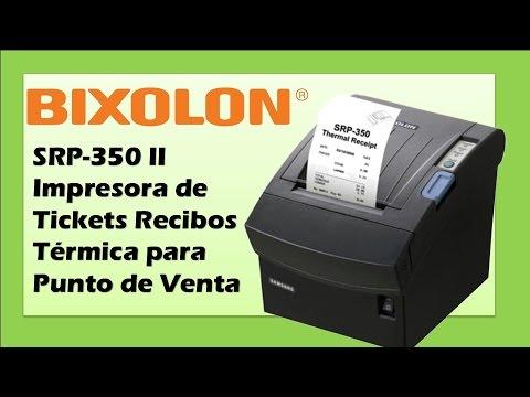 Bixolon SRP-350 II Impresora de Tickets Recibos Térmica para Punto de Venta