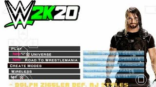 300MB] WWE 2K18 GAME FOR ANDROID | FULL WWE 2K18 GAME IN