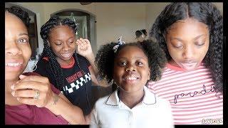 Meeting YouTube Subscribers At School | Lakihair Back to school hair giveaway (10 winners)
