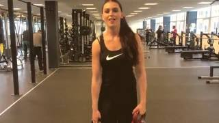 Helena Heuser Contestant Miss World Denmark 2016 Sport Activity