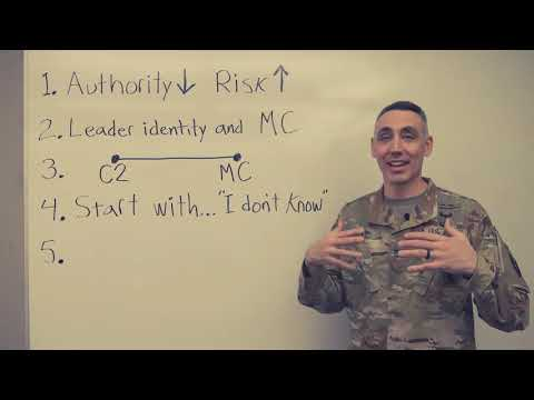 My Top 5 Lessons from the Army Pre Command Course